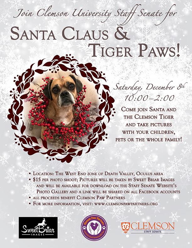 Santa Claus & Tiger Paws