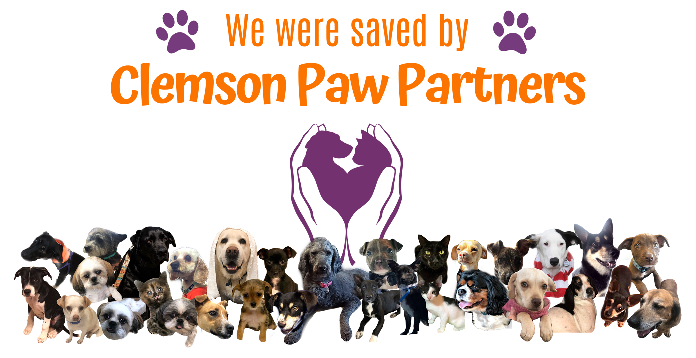 We Were Saved by Clemson Paw Partners